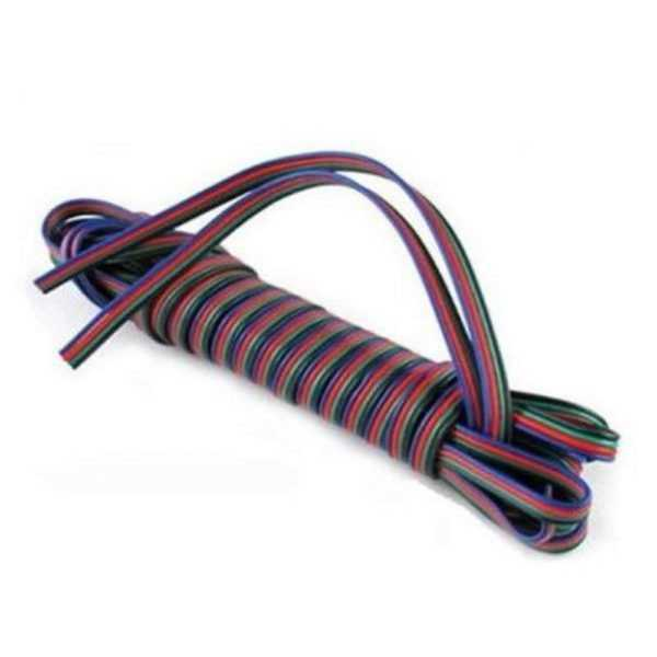 1m 4-pins kabel voor RGB LED strips