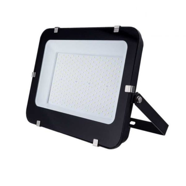200W LED floodlight spotlight cold white 6000K black