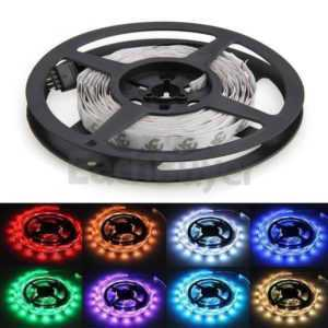 5m LED Strip 12V 5050 RGB 14,4W & 60 Leds/M IP20