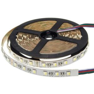 5m RGBW LED 4in1 puce 24V RGB+blanc froid IP20